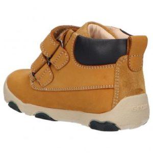 Mid boots boy GEOX B940PC 03222 B NEW BALU C5046 BISCUIT