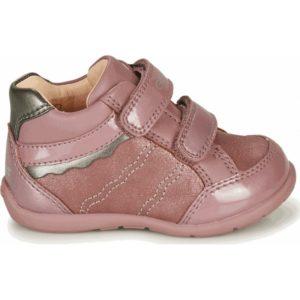 geox elthan gb μποτάκια ροζ