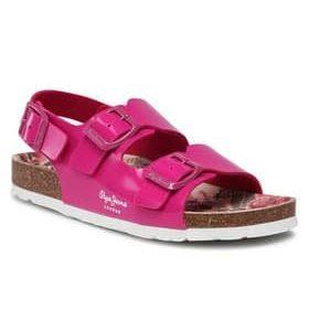 pepe jeans sandalia bio basic buckles pgs90163 roz