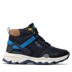 pepe jeans mpotinia peak trail junior pbs50095 skouro mple 1