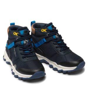 pepe jeans mpotinia peak trail junior pbs50095 skouro mple